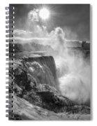 007a Niagara Falls Winter Wonderland Series Spiral Notebook
