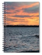 008 Awe In One Sunset Series At Erie Basin Marina Spiral Notebook