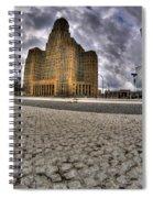 008 Entering The Traffic Circle Of Niagara Square Spiral Notebook