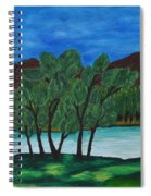 008 Landscape Spiral Notebook