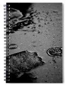 008 Melting Snow Spiral Notebook
