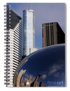 0081 The Bean And Trump Spiral Notebook