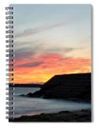 009 Awe In One Sunset Series At Erie Basin Marina Spiral Notebook