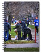 009 Bloody Marys At The Turkey Trot 2014 Spiral Notebook