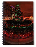 009 Christmas Light Show At Roswell Series Spiral Notebook