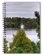 009 Hoyt Lake Autumn 2013 Spiral Notebook