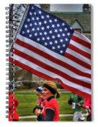 009 Turkey Trot 2014 Spiral Notebook