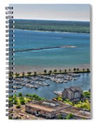 009 Visual Highs Of The Queen City Spiral Notebook