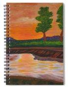 011 Landscape Spiral Notebook