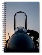 Sunset Return Spiral Notebook