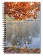 0132 Autumn At Starved Rock Spiral Notebook