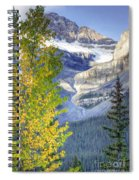 0141 Fall Colors On Icefield Parkway Spiral Notebook