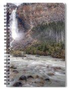 0163 Takakkaw Falls Spiral Notebook