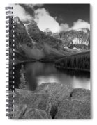 0166 Moraine Lake Spiral Notebook