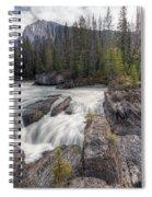 0182 Natural Bridge Waterfall Spiral Notebook
