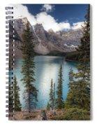 0184 Moraine Lake Spiral Notebook