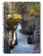0191 Athabasca Canyon 2 Spiral Notebook
