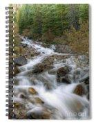 0192 Glacial Runoff Spiral Notebook