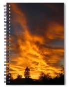 02 05 11 Sunset Two Spiral Notebook