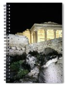 0212 The Acropolis Athens Greece Spiral Notebook