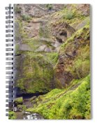 0237 Multnomah Falls Oregon Spiral Notebook