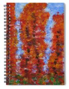 026 Red Trees Spiral Notebook