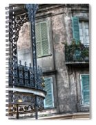 0275 New Orleans Balconies Spiral Notebook