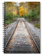 0276 Tracks Spiral Notebook