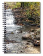 0278 South Elgin Waterfall Spiral Notebook