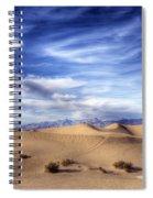 0292 Death Valley Sand Dunes Spiral Notebook
