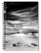 0293 Death Valley Sand Dunes Spiral Notebook