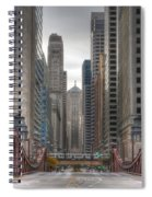 0295 Lasalle Street Chicago Spiral Notebook