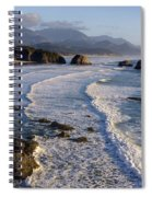 0319 Indian Beach Spiral Notebook