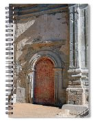 0328 Mission At San Juan Capistrano Spiral Notebook