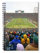 0350 Lambeau Field Spiral Notebook