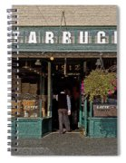 0370 First Starbucks Spiral Notebook