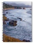 0412 Indian Beach  Spiral Notebook
