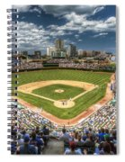 0443 Wrigley Field Chicago  Spiral Notebook