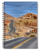 0445 Valley Of Fire Nevada Spiral Notebook