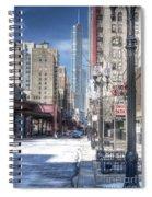 0450 Wabash Avenue Chicago Spiral Notebook