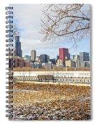 0452 Chicago Skyline Spiral Notebook