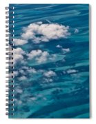 0458 Above The Caribbean Spiral Notebook