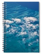 0459 Above The Caribbean Spiral Notebook