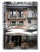 0505 Verona Cafe Spiral Notebook