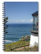 0511 Cape Mears Lighthouse - Oregon Spiral Notebook