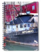0512 Oregon Coast Spiral Notebook
