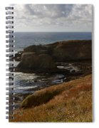 0513  Yaquina Lighthouse Spiral Notebook