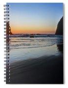 0519 Cannon Beach Sunset 3 Spiral Notebook
