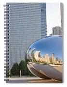 0553 Millennium Park Chicago Spiral Notebook