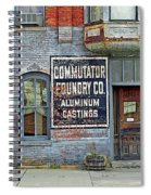 0605 Old Foundry Building Spiral Notebook